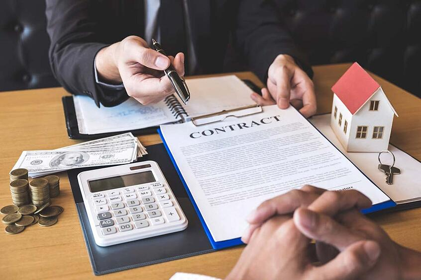 read the terms of your loan before signing